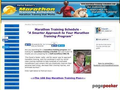 Marathon Training Plan – 100 Day Program | Marathon