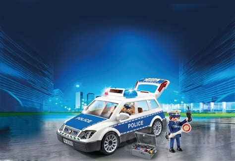 Køb Playmobil City Action - Politibil inklusiv 2 figurer
