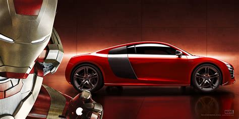 More 'Iron Man 3' Content from Audi Including High-Res R8