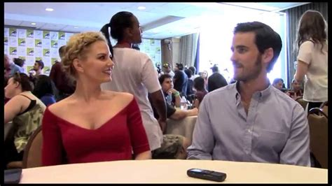 Jennifer Morrison and Colin O'Donoghue Interview-Once Upon