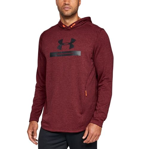Under Armour MK1 Terry Graphic Hoodie, Red - Tights