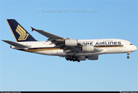 9V-SKS Singapore Airlines Airbus A380-841 Photo by