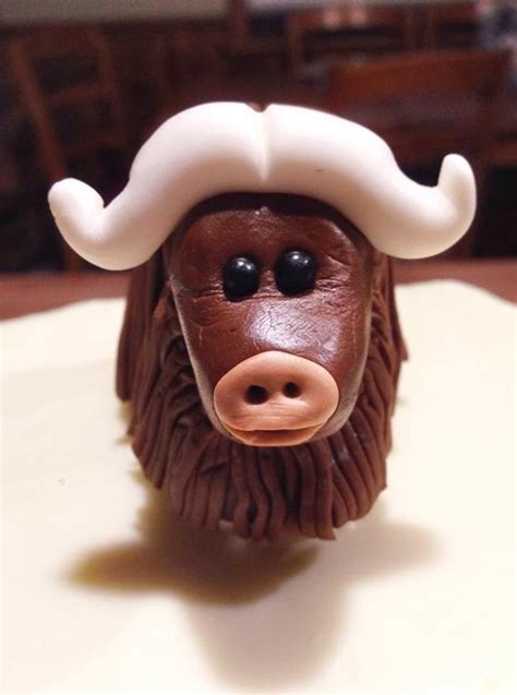 Cakes and Cookies: Musk Ox Cake