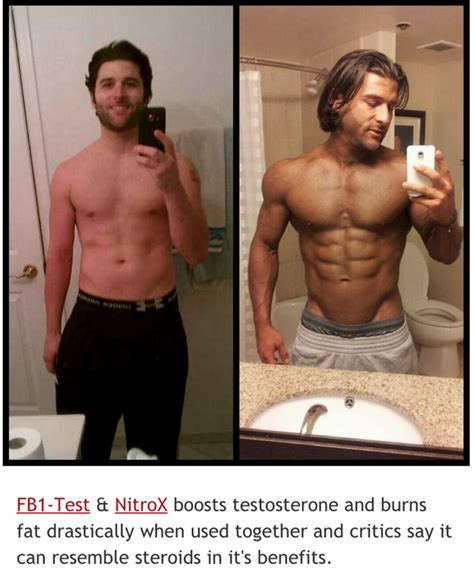 Anabolic Steroids: Before And After Pictures Of First