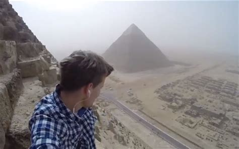 Video: A Teen Climbed the Pyramid of Giza | Travel + Leisure