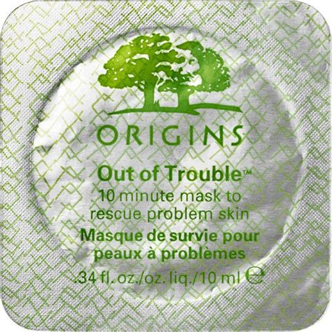 Origins Out Of Trouble 10 Minute Mask To Rescue Problem