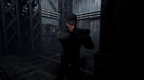 Watch the Metal Gear Solid remake on Unreal Engine 4