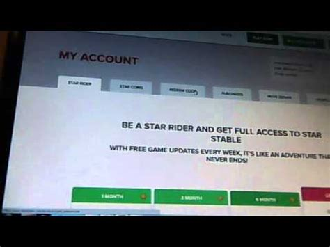 star stable new redeem code! - YouTube