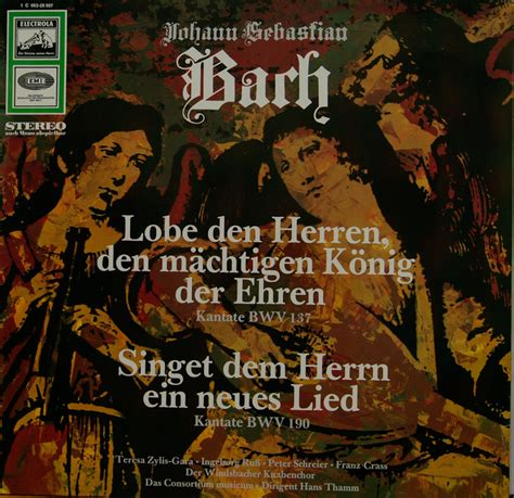 Cantata BWV 190 - Details & Discography Part 1: Complete