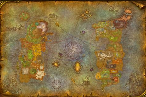 Detailed WoW Classic Map : classicwow