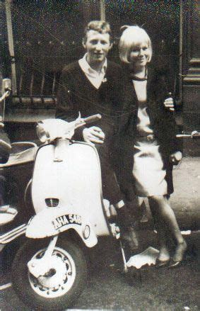 1960s Mod couple based in London