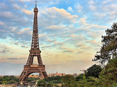 eiffel tower paris -france landscape wallpaper Preview