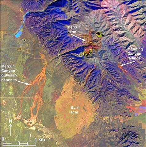 Landsat continuous-tone map of mineral groups and