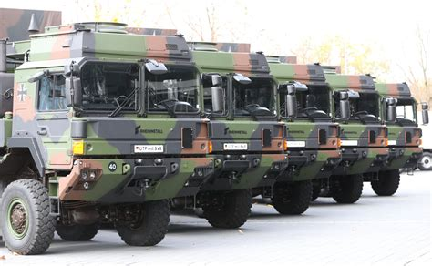 More Rheinmetall Trucks for the Bundeswehr - Overt Defense