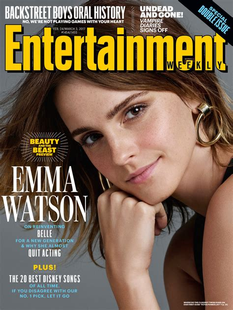 """""""Beauty and the Beast"""" Star, Emma Watson Covers"""