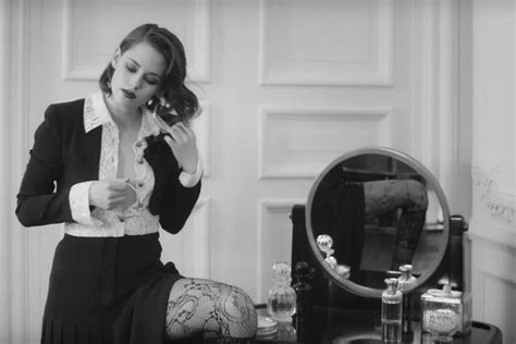 Kristen Stewart Returns for Another Chanel Campaign