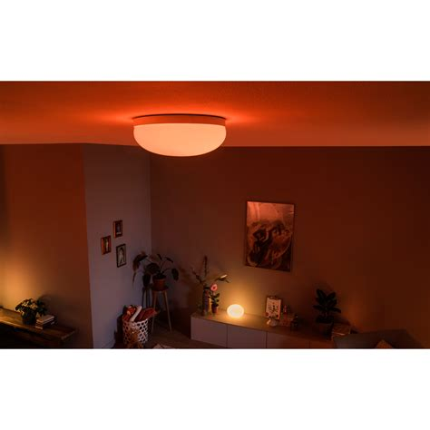HUE Flourish White and Color Ambiance plafond | Mesterlys