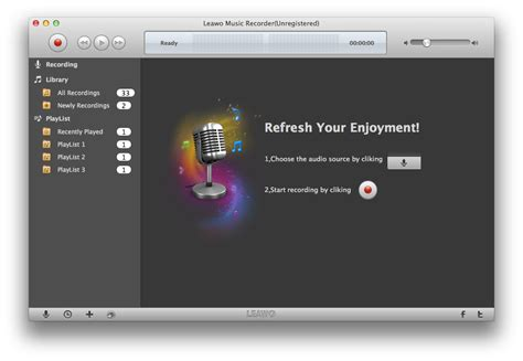 Music Recorder for Mac - Record Online Streaming Audio on