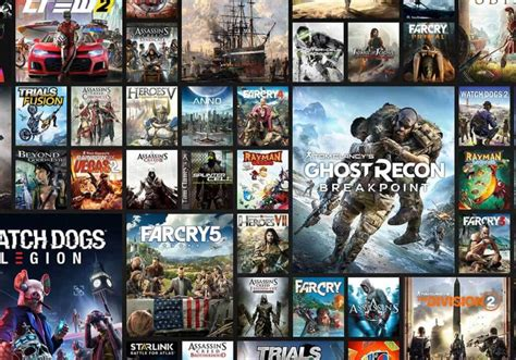 Ubisoft's all-you-can-play 'Uplay+' game subscription