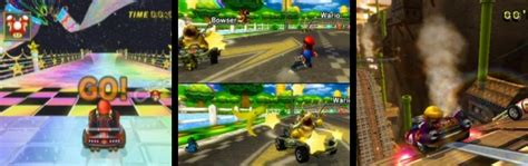 mario kart wii cups and tracks