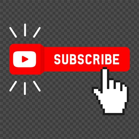 Subscribe On Youtube PNG Image Free Download Searchpng