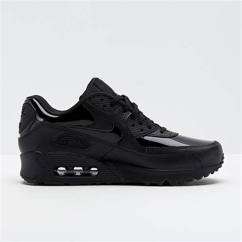 Womens Shoes - Nike Womens Air Max 90 Leather - Black