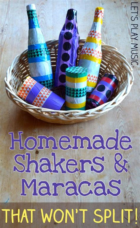 Homemade Musical Instruments : Shakers and Maracas