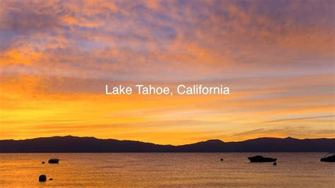 Lake Tahoe Sunrise and Milky Way Timelapse (Sony A6000