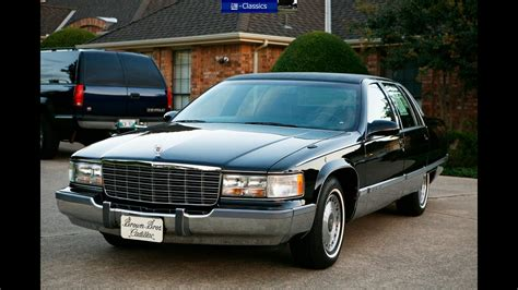 90's Cadillac Fleetwood Brougham Promotional Video - YouTube