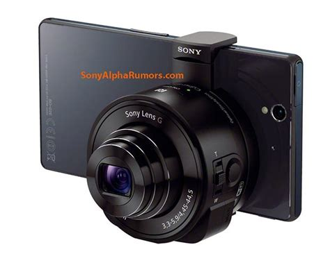 Sony to launch lens-camera accessories for Android and iOS