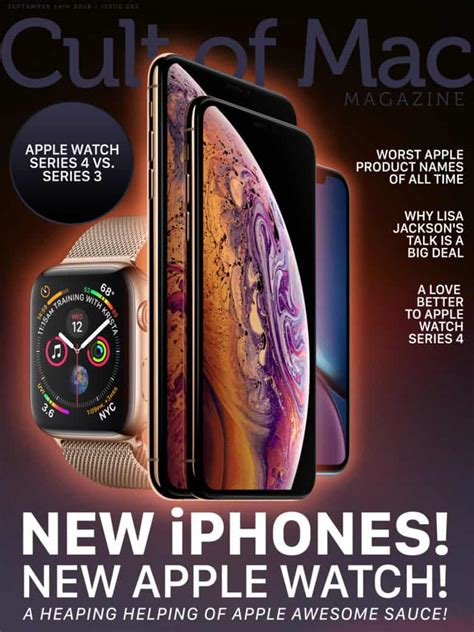 Cult of Mac Magazine: New iPhones, New Apple Watch, and
