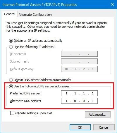 How to change DNS settings on your PC running Windows 10