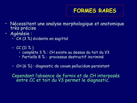 PPT - MALFORMATIONS CEREBRALES PowerPoint Presentation