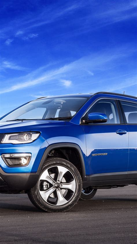 Wallpaper Jeep Compass longitude, suv, blue, Cars & Bikes