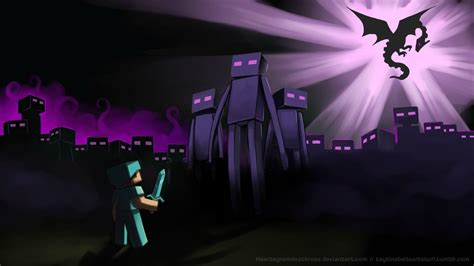 Minecraft Ender Dragon Wallpapers - Wallpaper Cave
