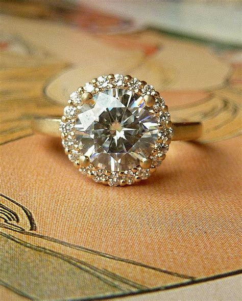 27 Non-Diamond Engagement Rings that Sparkle Just as Bright
