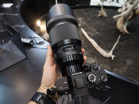 New Sigma Art E-mount Lenses Mounted on Sony Cameras at