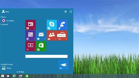 First Look: Continuum / Start Screen in Windows 10 - YouTube