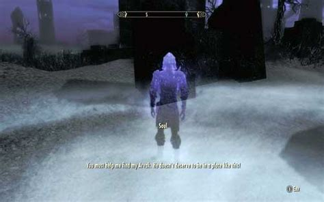 Find Arvak's skull in the Soul Cairn | Mutual side