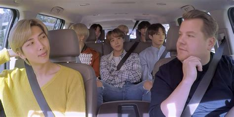 Watch BTS' Long Awaited Carpool Karaoke With James Corden