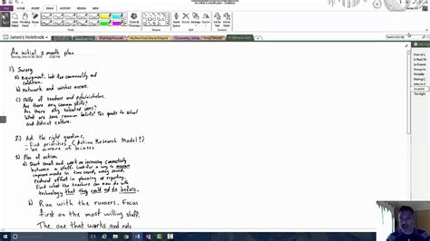 Minute by Minute 008 - Ink to Text in OneNote - YouTube