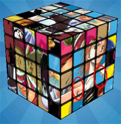 Easy guide picture 5x5 cube - Rubiks