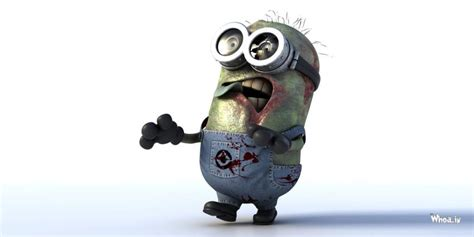Zombie Minions With White Background HD Wallpaper