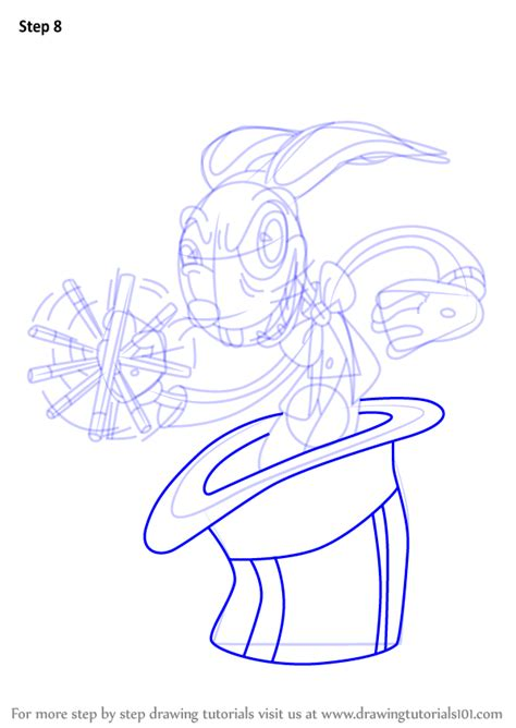 Learn How to Draw Hopus Pocus from Cuphead (Cuphead) Step