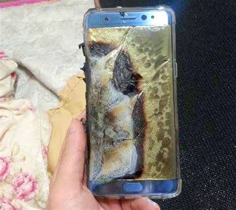 Samsung Galaxy Note 7 EXPLODES, causes £1,000 worth of