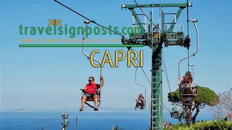 Capri: Live from the Monte Solaro Chair Lift! - YouTube