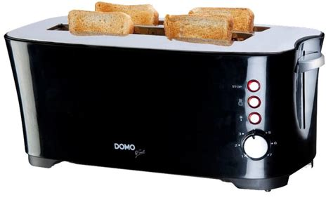 Toaster schwarz B-Smart, 1350 Watt, 3 Funktionen, 7 | real