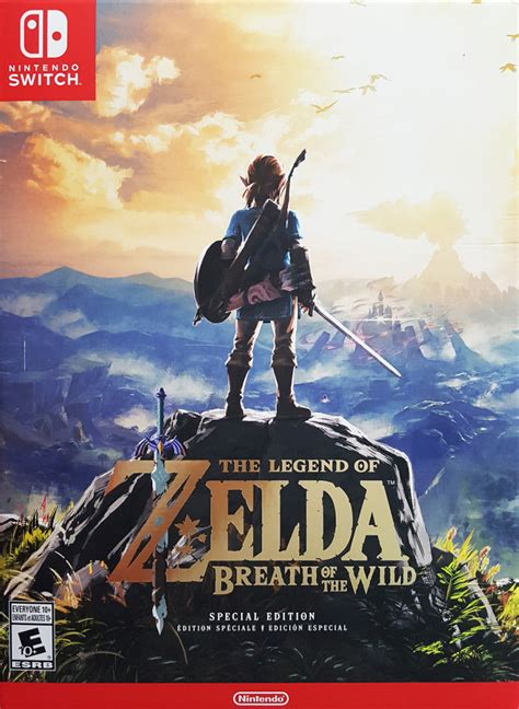 The Legend of Zelda: Breath of the Wild Box Shot for