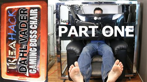 Ikea Hack - DIY Gaming Home Theatre Workstation Boss Chair