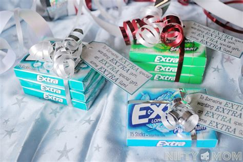 An Extra Fun Gift Idea with Extra Gum + Printable Labels